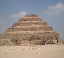Piramid of saqqara by Ciccio349