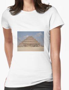 Piramid of saqqara Womens Fitted T-Shirt