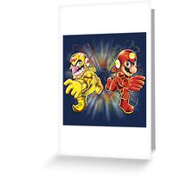 Super Flashy Rivals Greeting Card