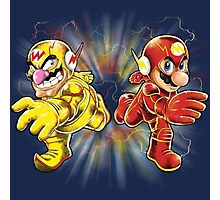 Super Flashy Rivals Photographic Print