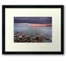 Sunrise St Anns Bay Nova Scotia Framed Print