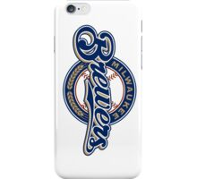 milwaukee brewers iPhone Case/Skin