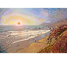 West Coast Sunset 11 Photographic Print