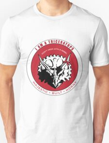 I AM A TRICERATOPS - Red/Black MBH T-Shirt