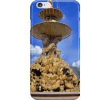 Residenz Fountain In Salzburg Austria iPhone Case/Skin