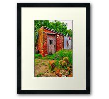 """""""The Garden Shed"""" Framed Print"""