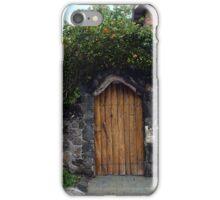 Puerto Ayora Door, Galapagos Islands iPhone Case/Skin