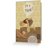 I'm a plane! Greeting Card