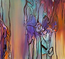 Babe, Im Gona Leave You (Full Painting) by Sukhwinder Flora