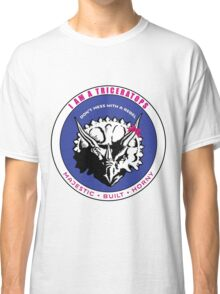I AM A TRICERATOPS - Pink/Blue MBH Classic T-Shirt