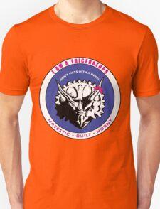 I AM A TRICERATOPS - Pink/Blue MBH Unisex T-Shirt