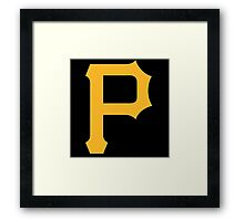 pittsbourgh pirates Framed Print