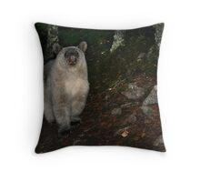 Glacier Bear Throw Pillow
