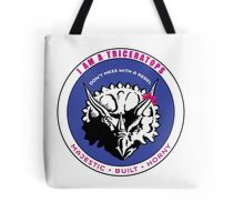 I AM A TRICERATOPS - Pink/Blue MBH Tote Bag