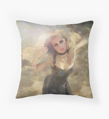 rebirth of the all american girl Throw Pillow