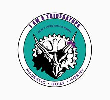 I AM A TRICERATOPS - Teal/Purple MBH Unisex T-Shirt