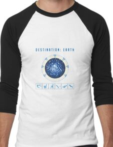 Earth destination gate Men's Baseball ¾ T-Shirt