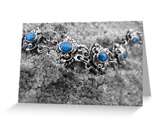 Precious Stones Greeting Card