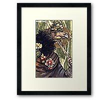 Cactus Heart Framed Print