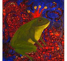 Frog Prince  Photographic Print