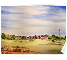 Royal Lytham And St Annes 18Th Hole Poster