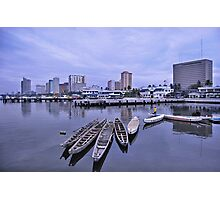 Manila Long Boats Photographic Print