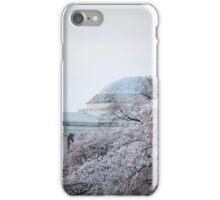 Cherry Blossom Thomas Jefferson Memorial close iPhone Case/Skin