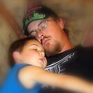 Father And Son by Wanda Raines
