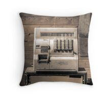 Abandoned National Throw Pillow