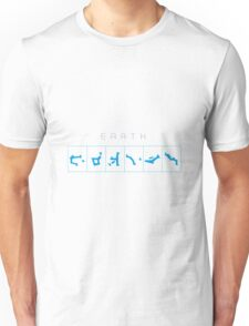 Earth chevron adress Unisex T-Shirt
