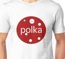Le Tour: Polka Dot Unisex T-Shirt