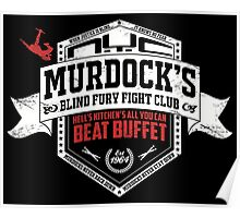 Murdock's Blind Fury Fight Club - Dist Red/White V03 Poster