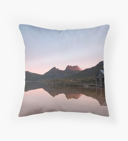 Tranquil Cradle Throw Pillow