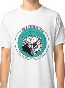 I am A Triceratops - Purple and Teal MBM Classic T-Shirt