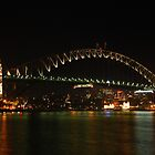 Sydney Harbour Bridge Pylon by Kamran Baig