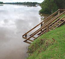 Manning River in Flood by Graham Mewburn