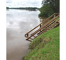 Manning River in Flood Photographic Print