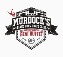 Murdock's Blind Fury Fight Club - Dist Black/Red/White by coldbludd