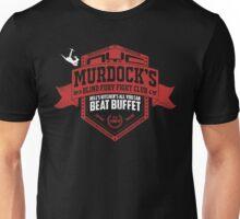 Murdock's Blind Fury Fight Club - Dist Red/White V02 Unisex T-Shirt