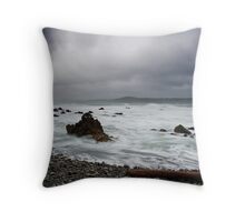 Flax Bay Throw Pillow