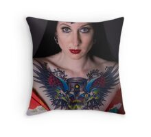 Kitty Elixir Throw Pillow