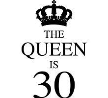 The Queen Is 30 by thepixelgarden