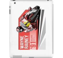 Wayne Rainey - 1991 Paul Ricard iPad Case/Skin