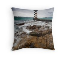 Guardian Angel Revisited Throw Pillow