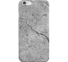 grey concrete wall  iPhone Case/Skin