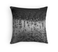 The perfect drop Throw Pillow