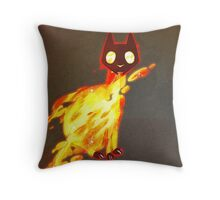 {NULL set} Sits Throw Pillow