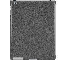 grey concrete wall  iPad Case/Skin