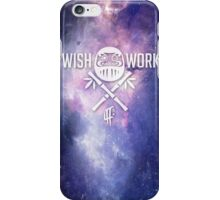 Wish and Work Galaxy iPhone Case/Skin