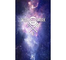 Wish and Work Galaxy Photographic Print